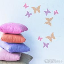 stencil farfalle cameretta