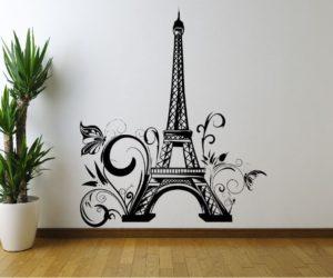 stencil tour eiffel